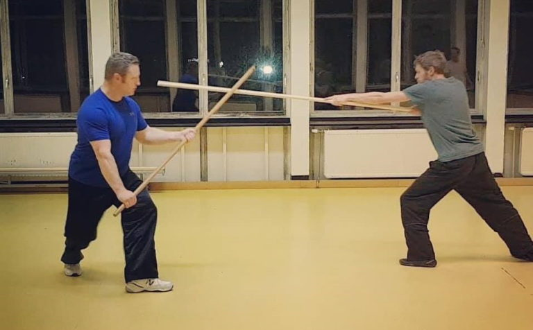 online tai chi chuan weapons spear self-defense application